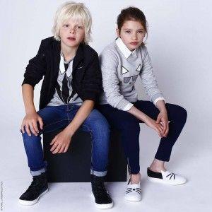 KARL LAGERFELD KIDS Dżinsy chłopięce