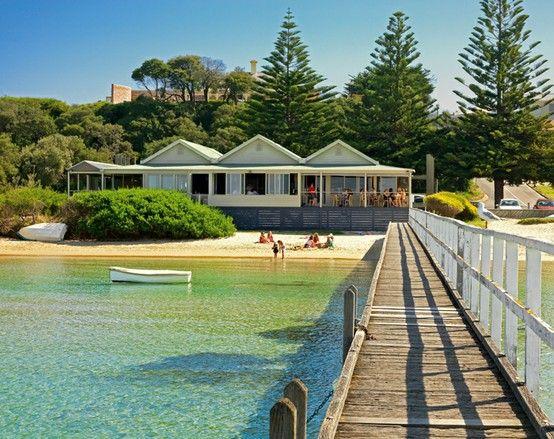 The Baths Restaurant, Sorrento, Mornington Peninsula, Victoria, Australia.
