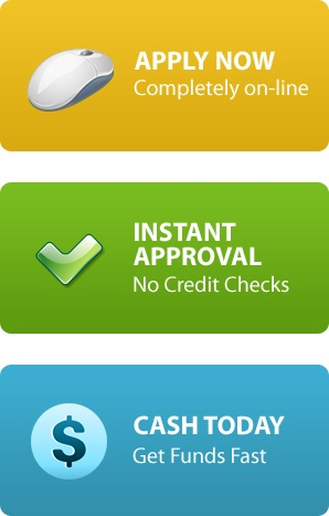 Fast cash advance with no credit check, apply today!