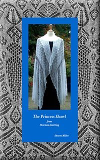 Princess Shawl - such a beautiful lace shawl. Would perfectly fit as a veil too :)