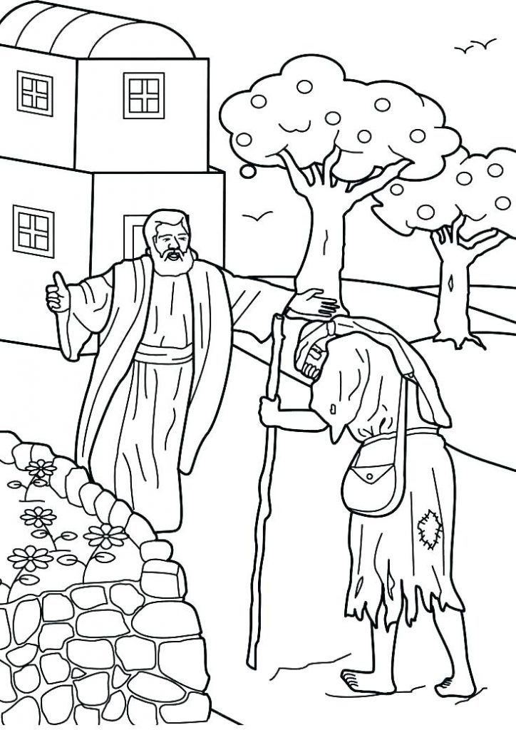 Prodigal Son Coloring Pages Best Coloring Pages For Kids Sunday School Coloring Pages Bible Story Crafts Bible Coloring Pages