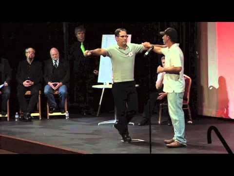 Live on stage at The Amaz!ng Meeting 2012, we test a claimant for the James Randi Educational Foundation's Million Dollar Challenge. Join Jamy Ian Swiss, Ban...