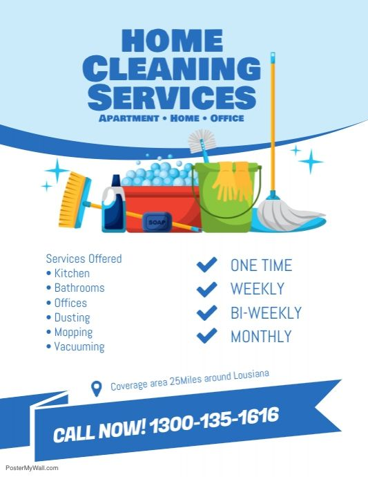 Create The Perfect Design By Customizing Easy To Use Templates In Minutes Easily Conver House Cleaning Services Cleaning Business Cards Cleaning Service Flyer