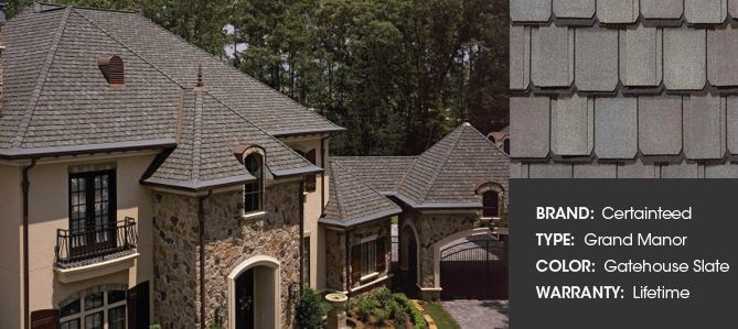Certainteed Grand Manor  Shingle Brands  Residential