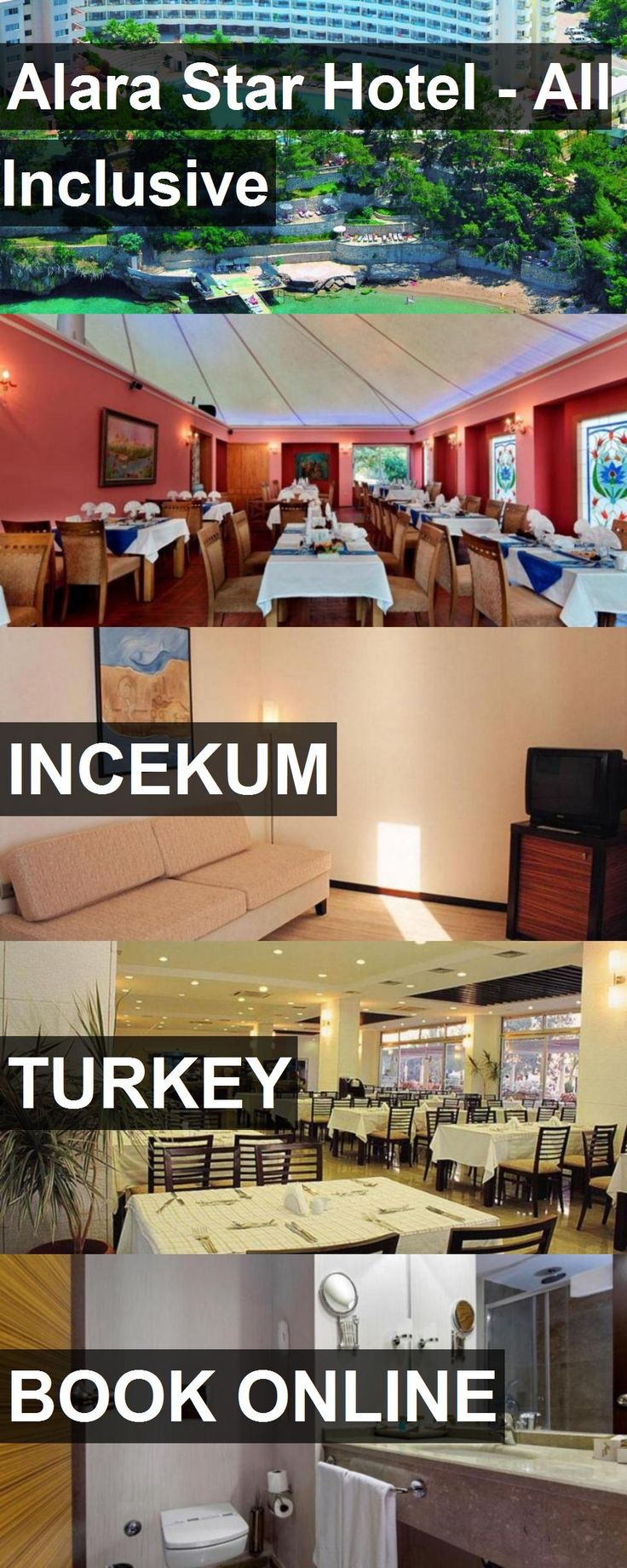 Hotel Alara Star Hotel - All Inclusive in Incekum, Turkey. For more information, photos, reviews and best prices please follow the link. #Turkey #Incekum #AlaraStarHotel-AllInclusive #hotel #travel #vacation