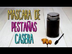 Cómo hacer Mascara Para Pestañas Casera - De Almendras - Pestañas Perfectas - Catwalk - YouTube