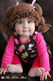 Gorro-peluca de muñeca