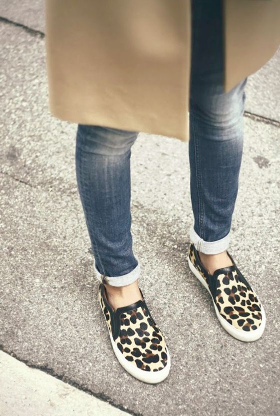 SLIP ON SNEAKERS - see our picks for styling this trend.