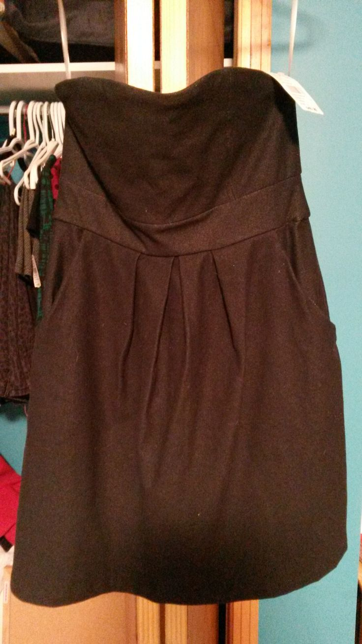 Size small demin dress. Unworn with tag. $10