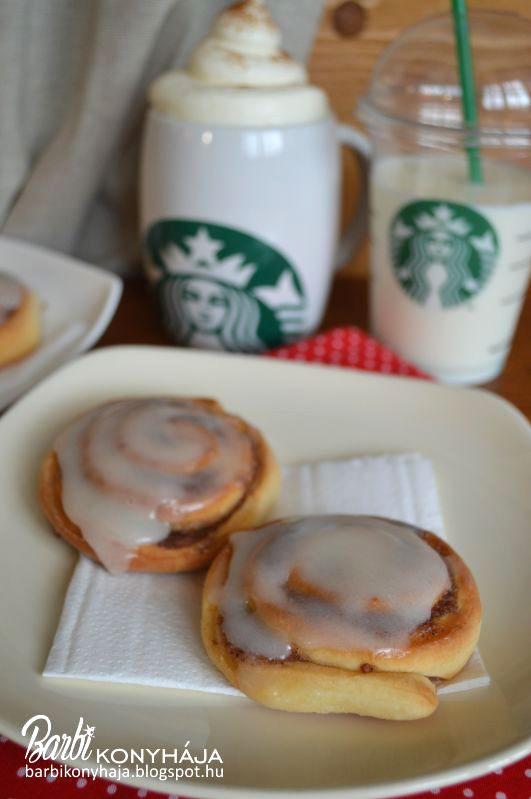 Barbi konyhája: Fahéjas tekercs, citromos mázzal avagy Cinnamon ro...