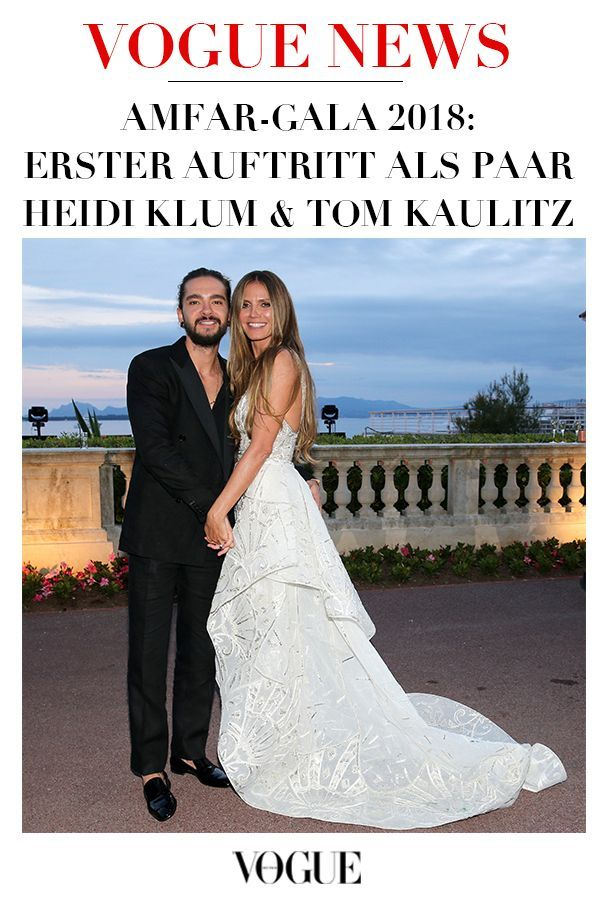 Hochzeitskleid Heidi Klum   Heidi klum, Tom kaulitz ...