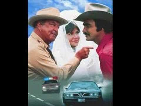 "Jerry Reed - East Bound and Down song......the movie was ""Smokey and The Bandit"""