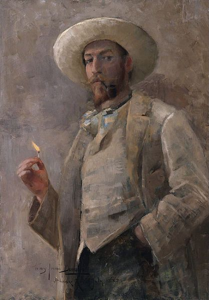 Portrait of Gaines Ruger Donoho by Sir John Lavery 1856 - 1941
