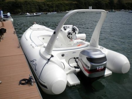 Arimar 590 RIB with 125HP Optimax outboard RIBs and Inflatable Boats for sale in Devon, South West :: Boats and Outboards