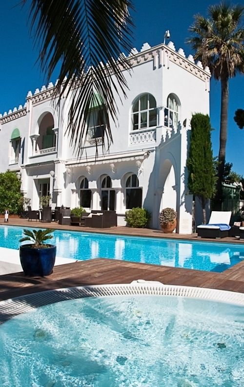 La Villa Mauresque ~ St-Tropez, #French Riviera #travel