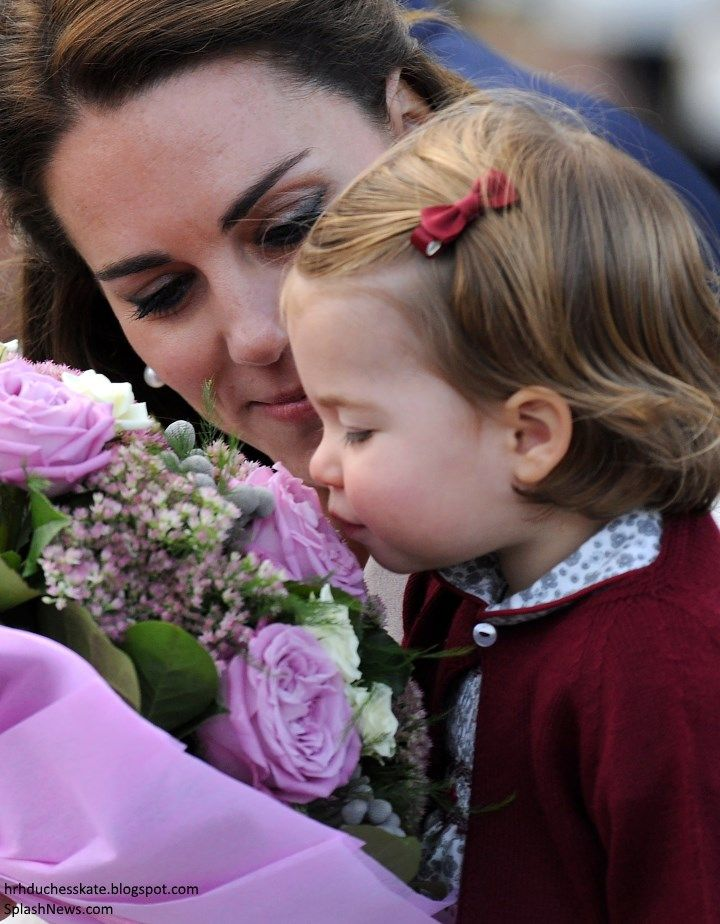 The Cambridges' eight-day tour of Canada concluded this afternoon when the family arrived at Victoria Harbour seaplane terminal.      Below,...
