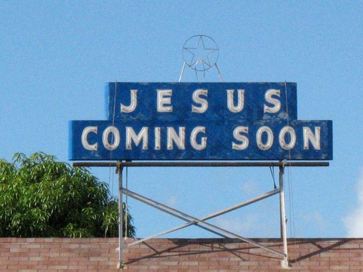 Jesús viene pronto.