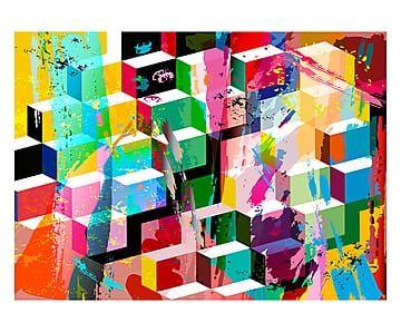 Tappeto Cubi - 110x160 cm