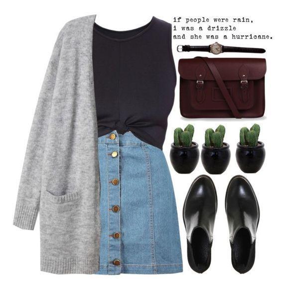 10 super süße Rock-Outfit-Ideen, die Sie ausprobieren können // Ausprobieren
