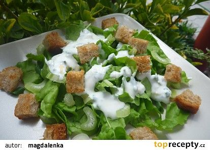 Salát z mangoldu recept - TopRecepty.cz