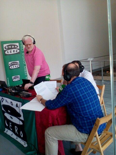 Presente Radio programa pasando en el cuatro real de santo domingo