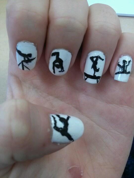 Gymnastics nails :)