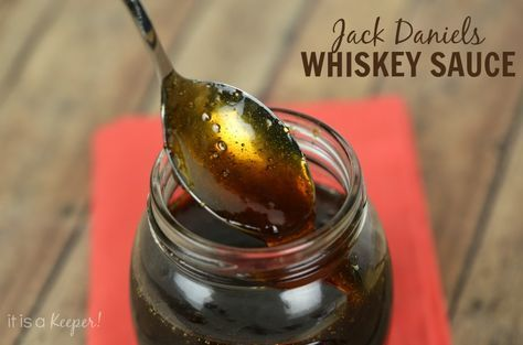 This Jack Daniels Glaze sauce: excellent on burgers - only follow as a guide and use bourbon as main base.