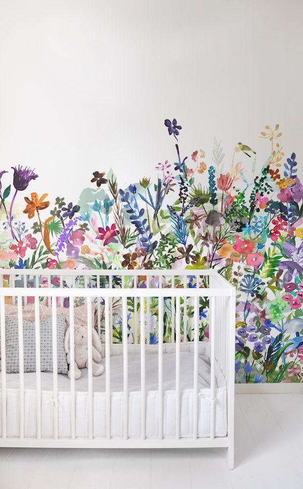 Behang van Rebel Walls #babykamer #kinderkamer