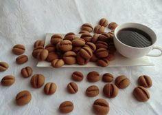 Sušenky • kávová zrna