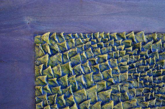 Textured  Decorative Wall Panel  Abstract Wall by JeemadoDecor