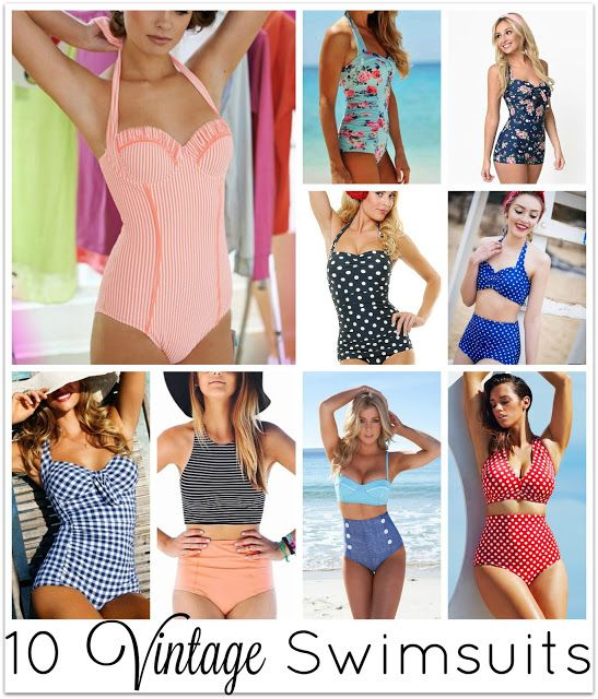Swanocean: It's Friday I'm in Love-Vintage swimsuits