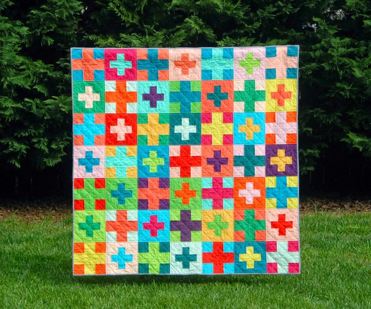117 best Plus Quilts images on Pinterest | Patchwork quilting ... : plus quilts - Adamdwight.com