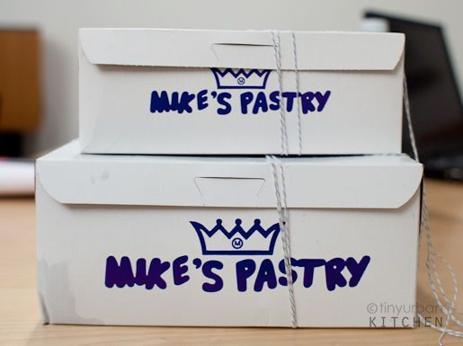 Mike's Pastry! North End in Boston.