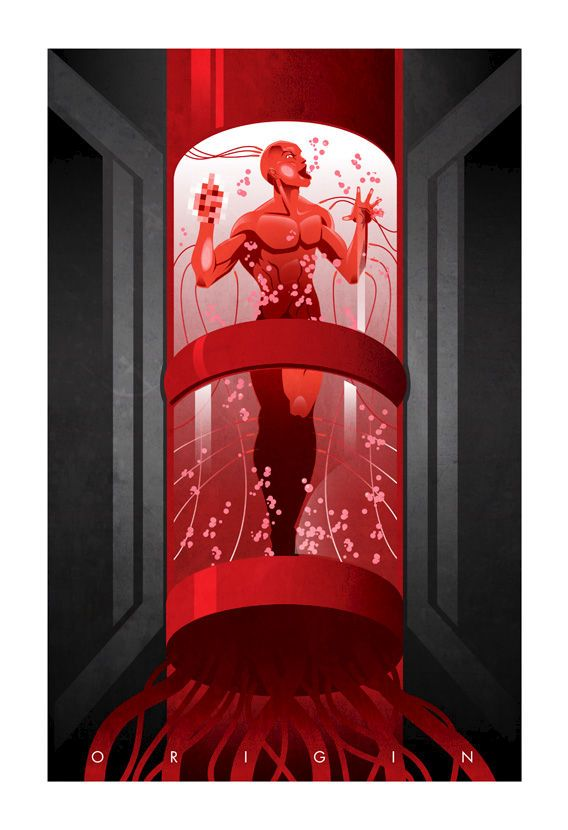 -Superhero Origin Series Posters - Deadpool-  I thought this was going to be a sad picture, then I clicked on it and then I burst out laughing.