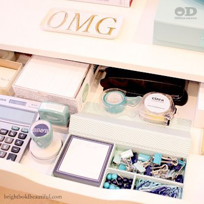 Attractive 4 Organizing Tips For Office Supplies