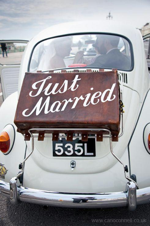 Volkswagen Beetle just got married