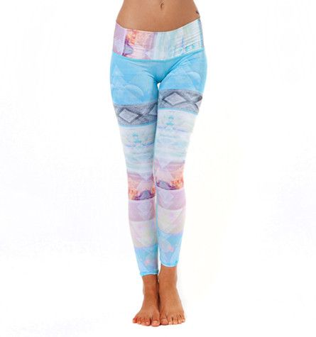 Teeki- TAROT MAGICK HOT PANT. They sell these yoga pants at Moksha that are made from recycled bottles and you can swim in them I guess! Want!