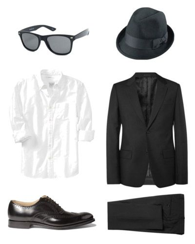 Blues Brothers costume for when the boys are older!