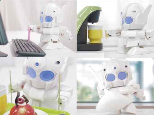 3ders.org - Now you can 3D print a cool humanoid robot for your Raspberry Pi | 3D Printer News & 3D Printing News