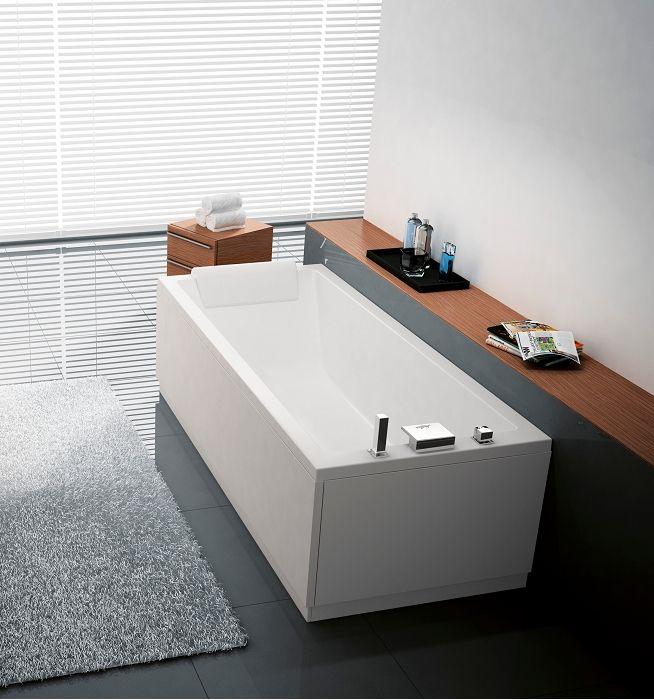 Les 25 meilleures id es concernant baignoire rectangulaire - Nue dans salle de bain ...