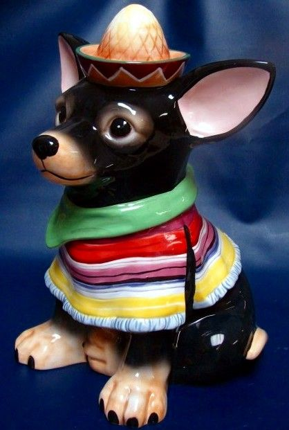 Chihuahua Cookie Jar Amazing 274 Best Cookie Jars Images On Pinterest  Cookie Jars Dog Biscuits Design Decoration