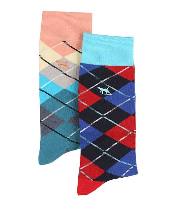 Rodd & Gunn Father's Day Gift Guide - Pullar Road Two Pack Sock, $39.