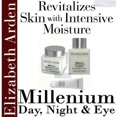 Elizabeth Arden Millenium Renewal Cream - Day, Night & Eye Value Pack.