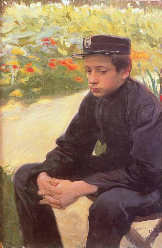 A Student (Wojciech Weiss - 1897)