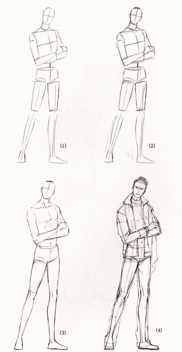 HOW TO DRAW BODY SHAPES: 30 Tutorials For Beginners