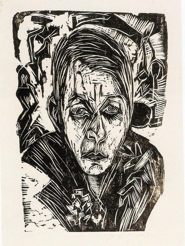 Ernst Ludwig Kirchner, Young girl with cigarette (Nele van de Velde) [Young Girl with Cigarette (Nele van de Velde)], 1918                                                                                                                                                                                 Mehr