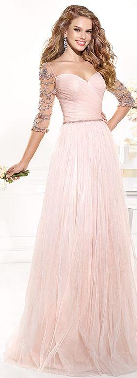 I would love a wedding dress with the same cut and shape as this. Tarik Ediz 2014