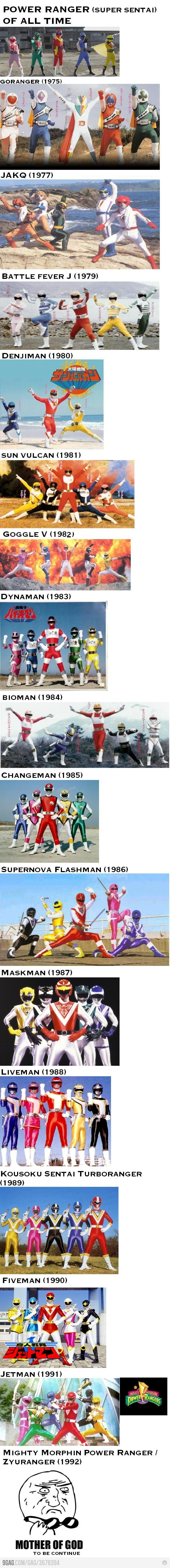 Power Ranger of all time