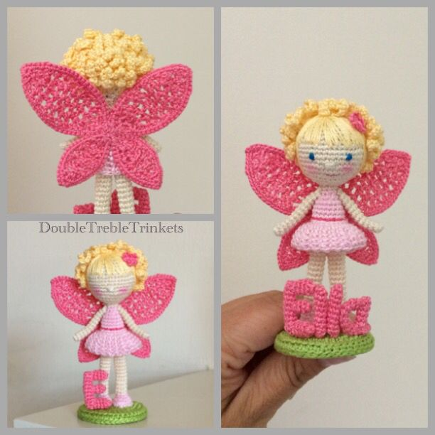 Amigurumi Fairy Pattern : Crocheted Fairy amigurumi Pinterest New ideas, Fairy ...
