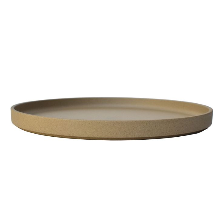 Brown Plate 10""